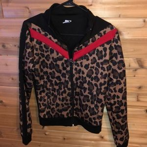 BNWOT Leopard jacket/sweater